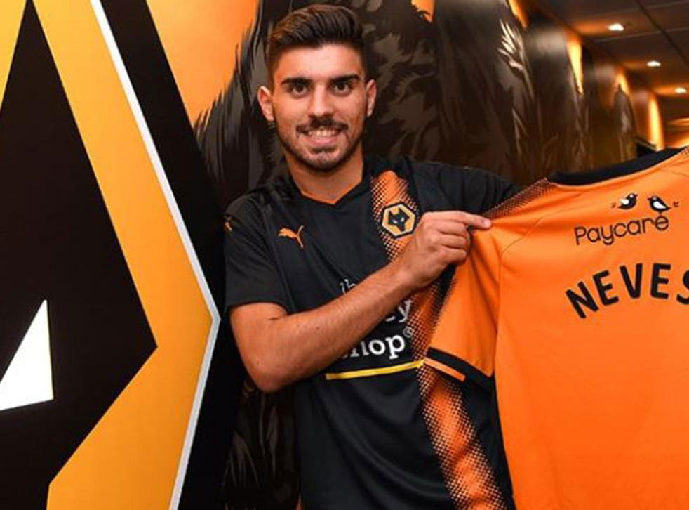 Ruben Neves has joined in a club record deal