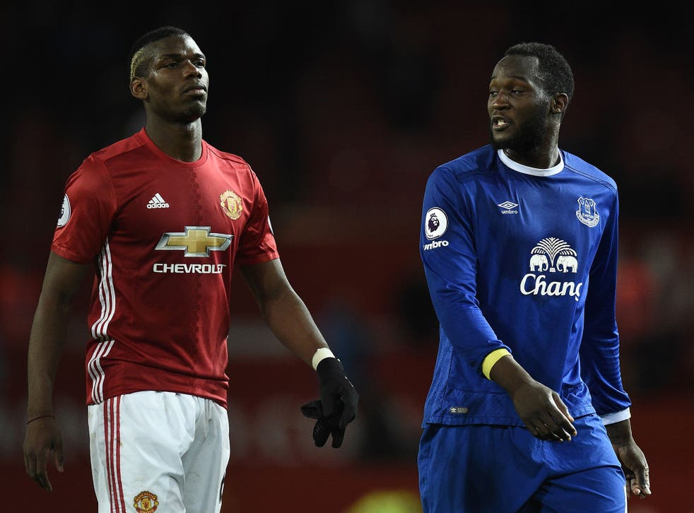 Paul Pogba and Romelu Lukaku are both represented by the agent Mino Raiola