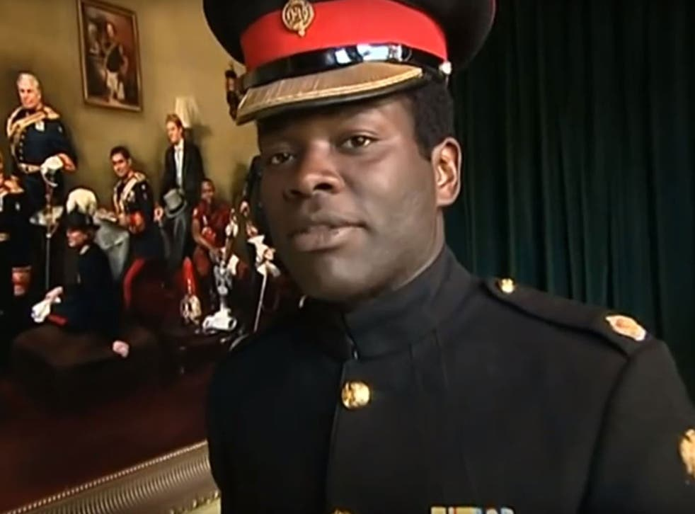 Major Nana Kofi Twumasi-Ankrah moved to the UK with his parents from Ghana in 1982
