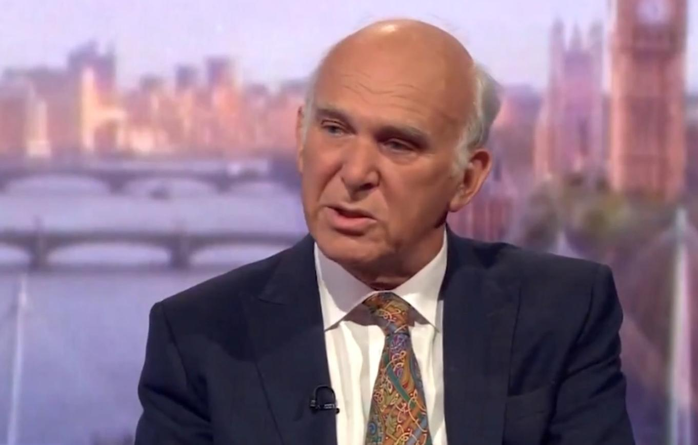 Vince Cable says Brexit may never happen