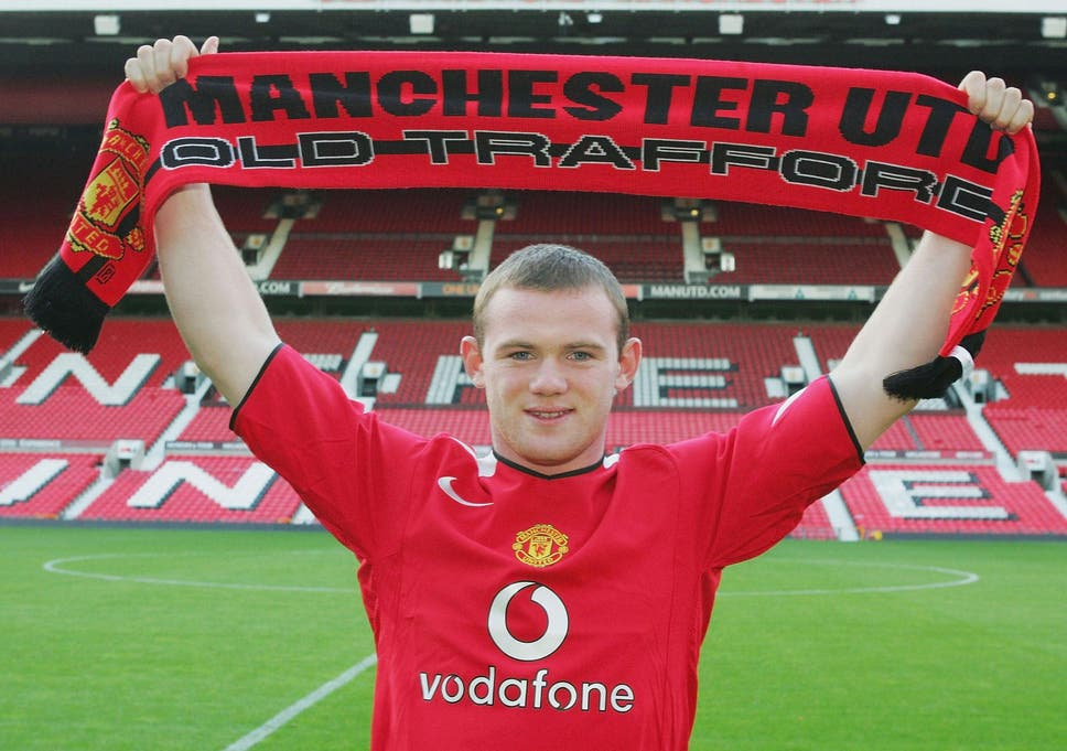 Wayne Rooney  What they said when he signed for Manchester United in ... 1156d9e5a