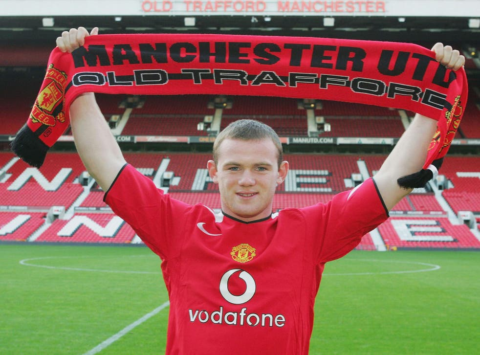 Wayne Rooney signed for Everton way back in 2004