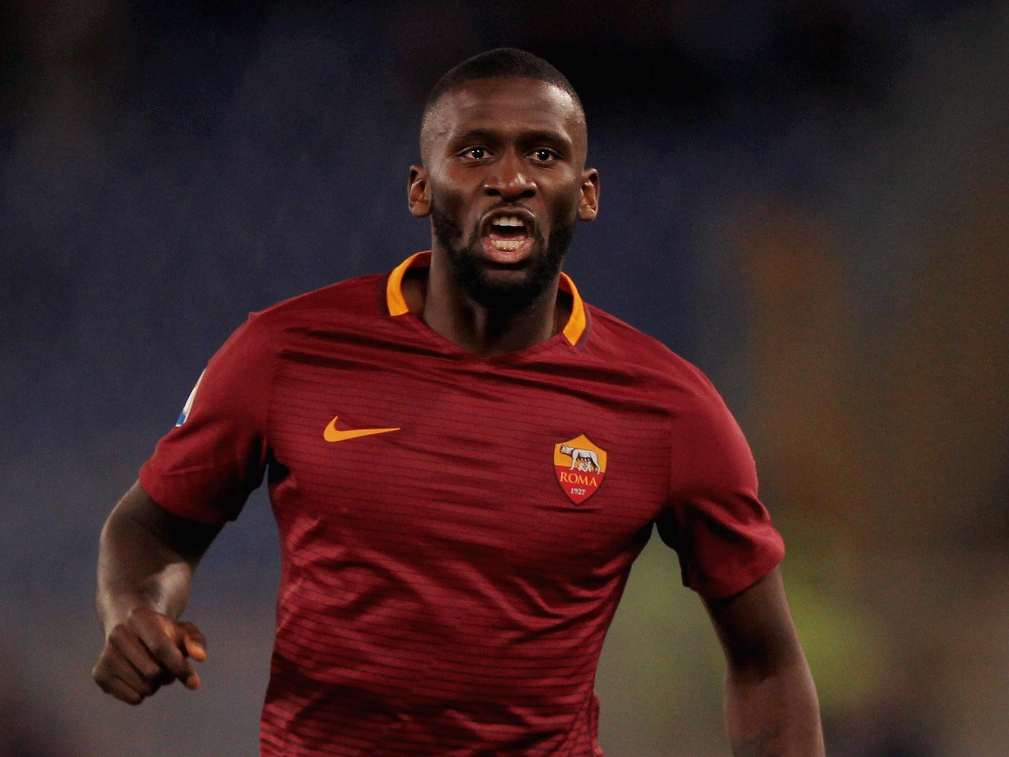 Antonio Rudiger is not Romelu Lukaku but he is three defenders in
