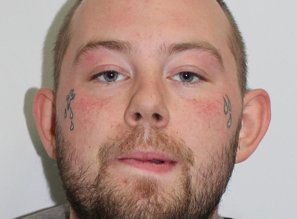 The 24-year-old handed himself in at a police station on Sunday and is being held in custody