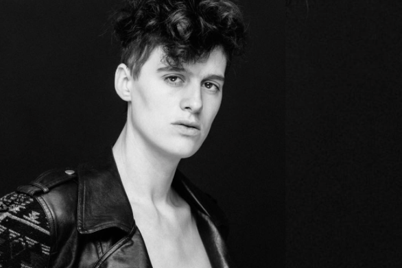 Rain Dove is the genderless firefighter changing the face of the modelling industry
