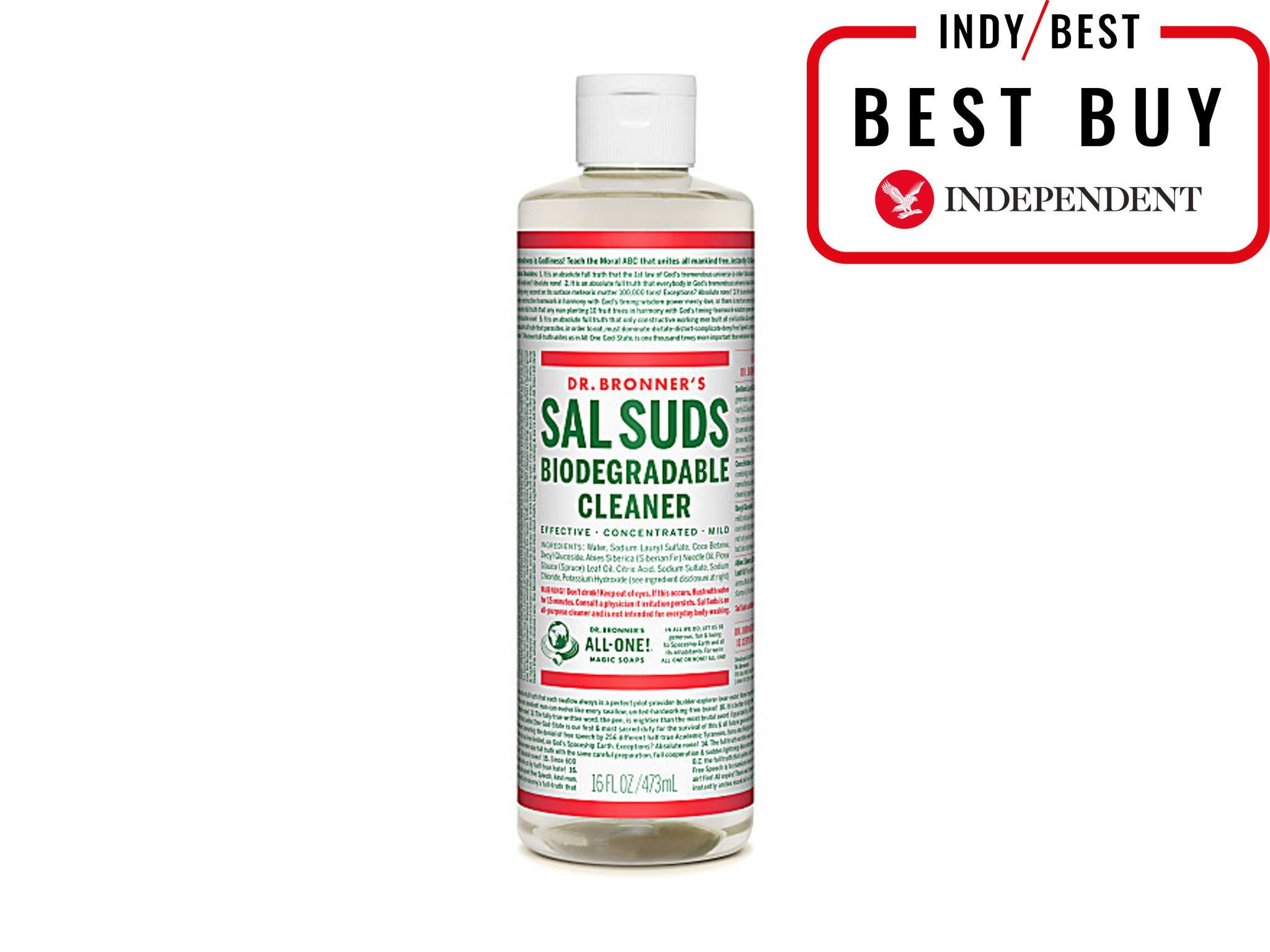 2c91c82c73 Dr Bronner s Sal Suds Biodegradable Cleaner  £9.49 for 473ml