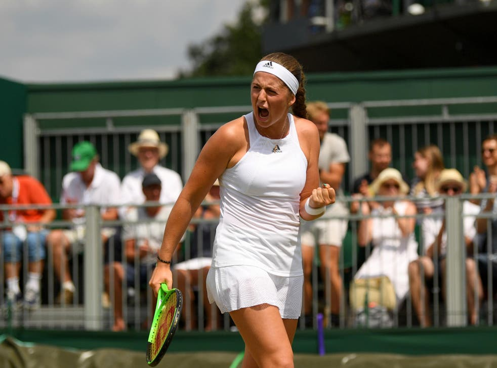 Ostapenko is through to the quarter-finals of The Championships