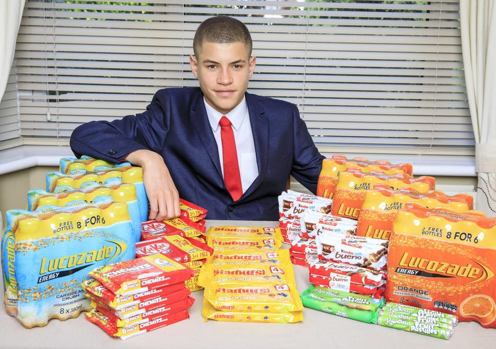 Teenager builds £50,000-a-year tuck shop empire from boys' toilets