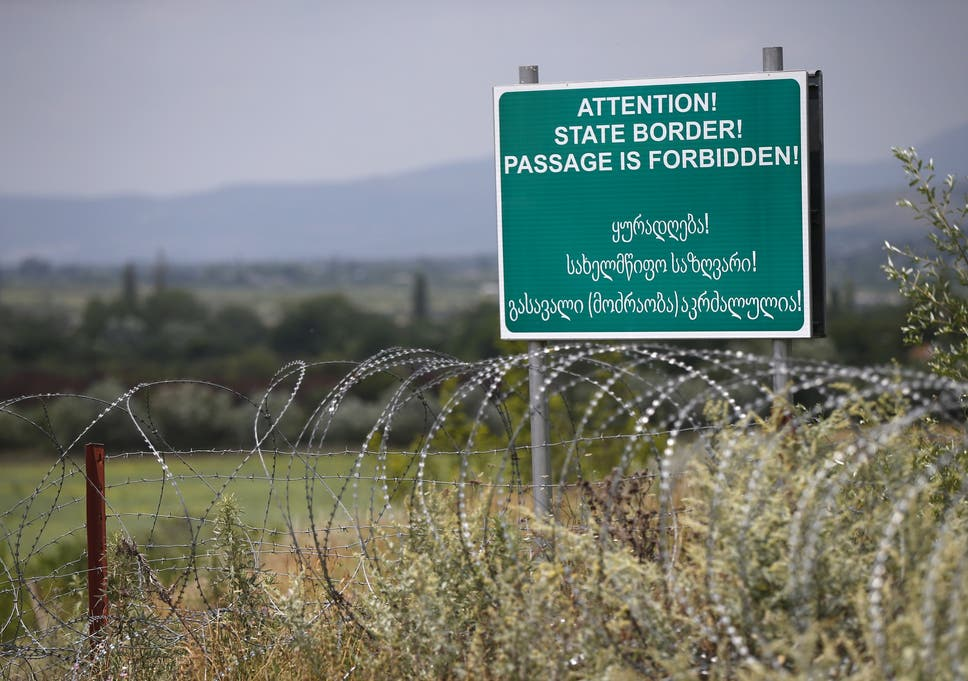 Russia quietly moves border hundreds of yards into occupied ...
