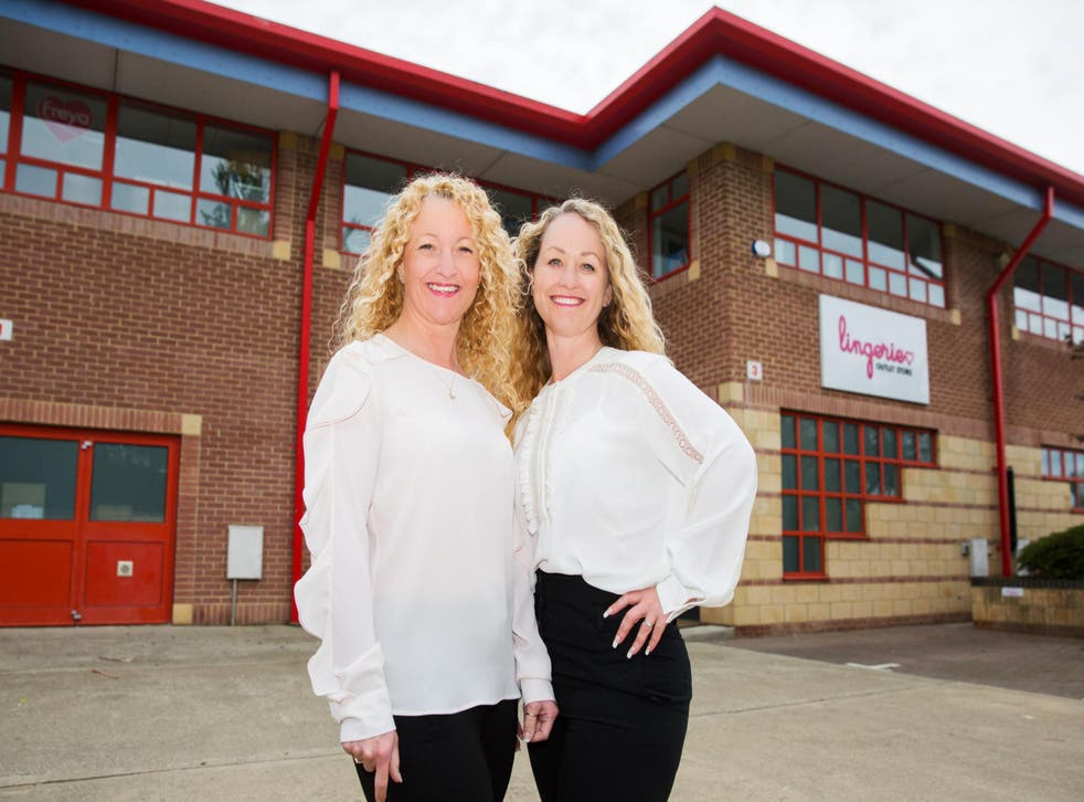 Clare Haines (right) founded the business in 2009, but the firm has grown by 2,000 per cent since friend Melissa Burton (left) joined as an equal partner in 2015