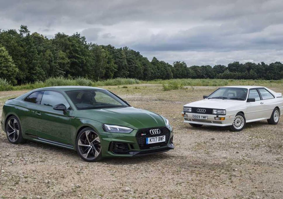 The legendary Audi Quattro takes on the new RS5 | The Independent