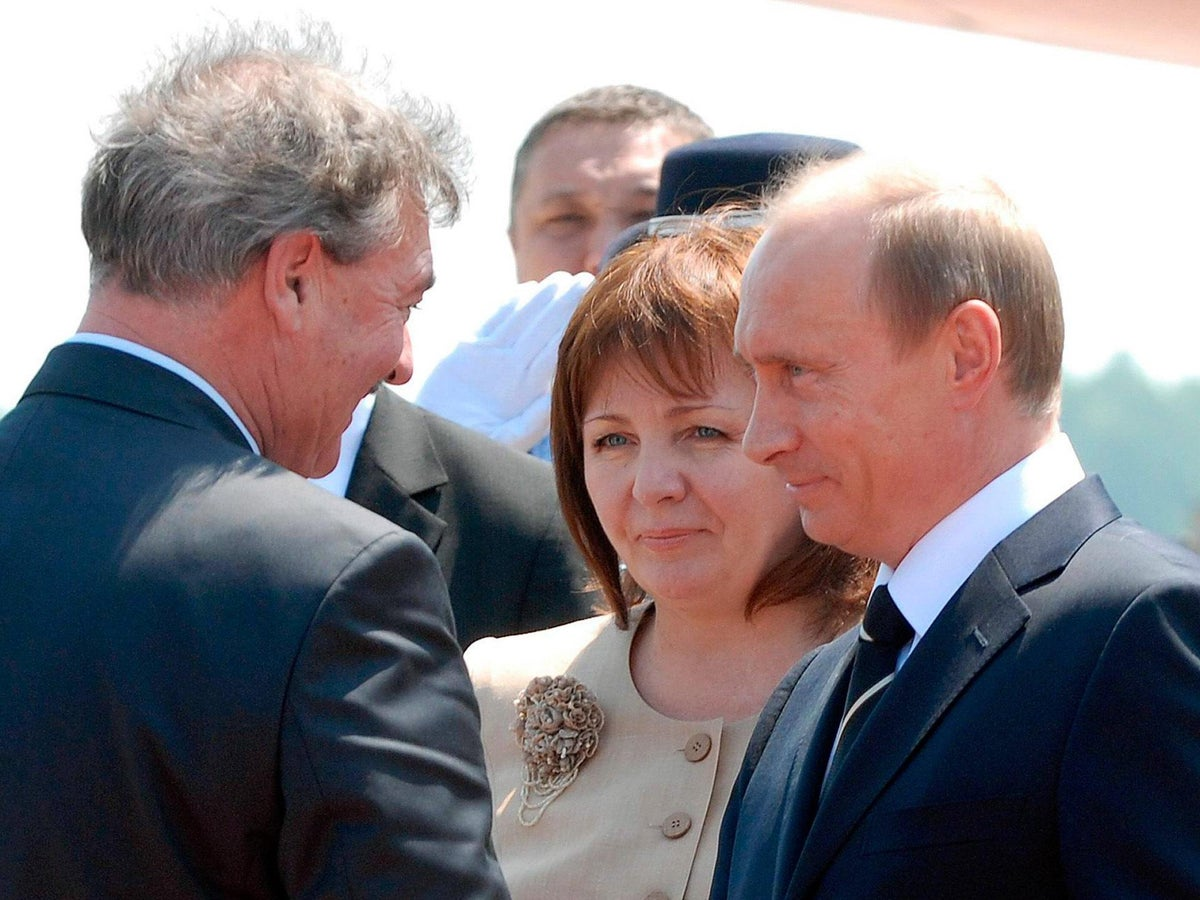 The mysterious life of Vladimir Putin's ex-wife | The Independent | The  Independent