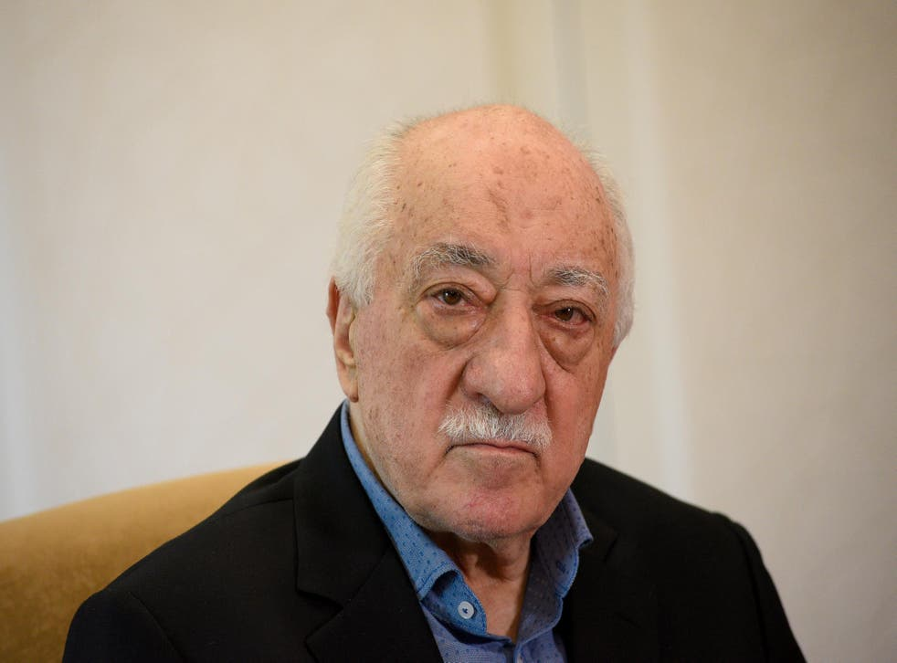 Fethullah Gulen is accused of orchestrating a failed Turkish coup in 2016, which he denies