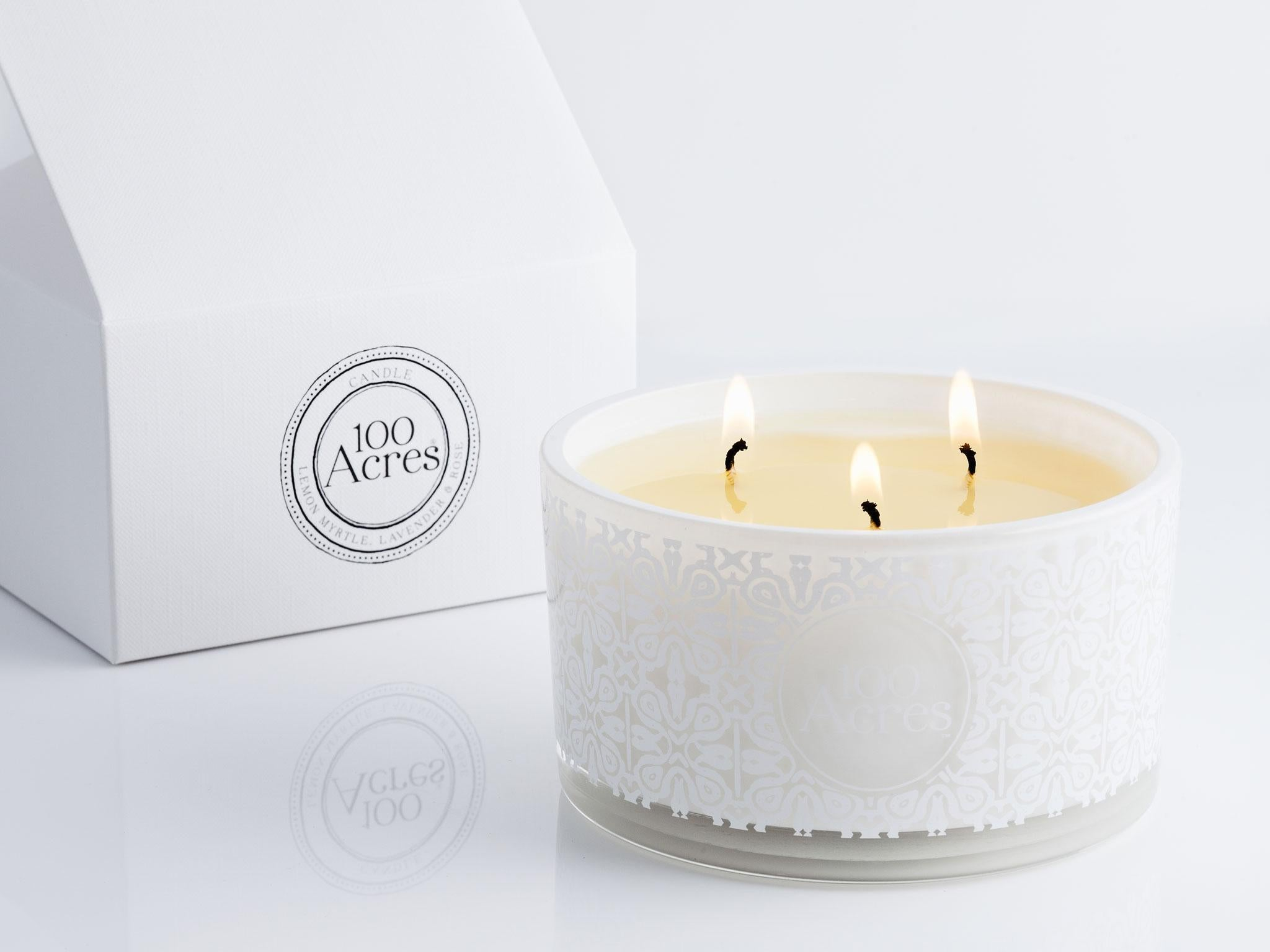 7 Best Non Toxic Candles The Independent Natural Soy Wax Scented Cinnamon Vanilla Hand Poured With Made From And Rapeseed This Triple Wick Candle Is Lemon Myrtle