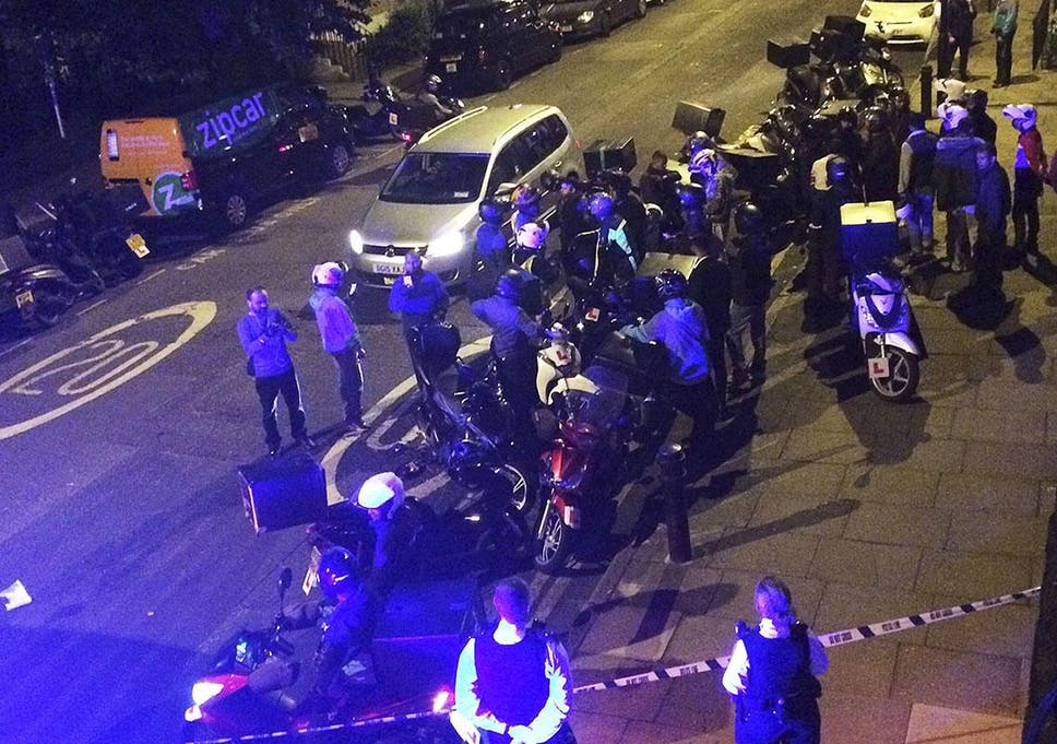 North London acid attack: 75-year-old man nearly blinded in