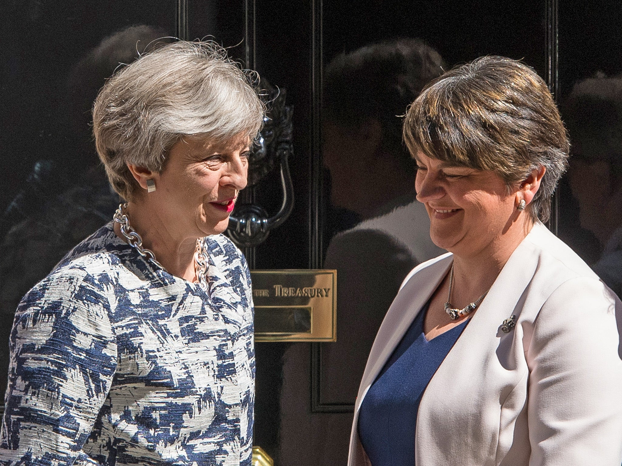 DUP abstain from crucial vote in warning over May's Brexit agreement