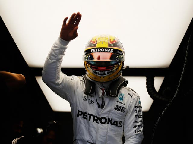 Hamilton delighted the Silverstone crowd with a crushing performance in qualifying