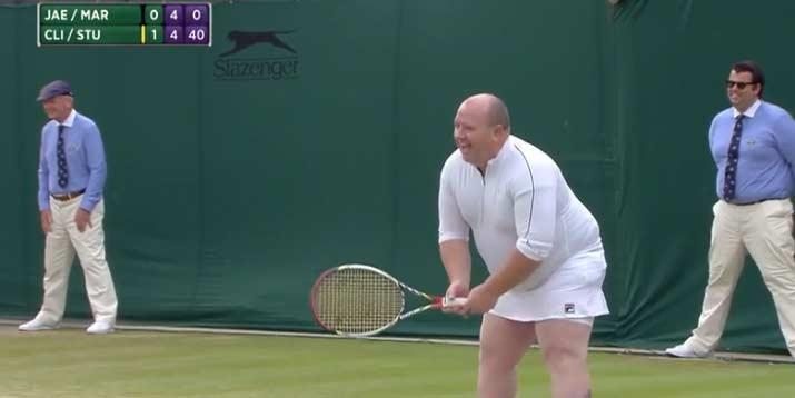 Wimbledon fan invited on court after shouting advice to female wimbledon fan invited on court after shouting advice to female players indy100 stopboris Choice Image