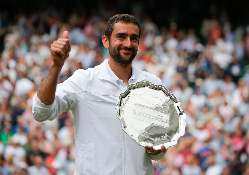 Marin Cilic played his part but Sunday was never about him