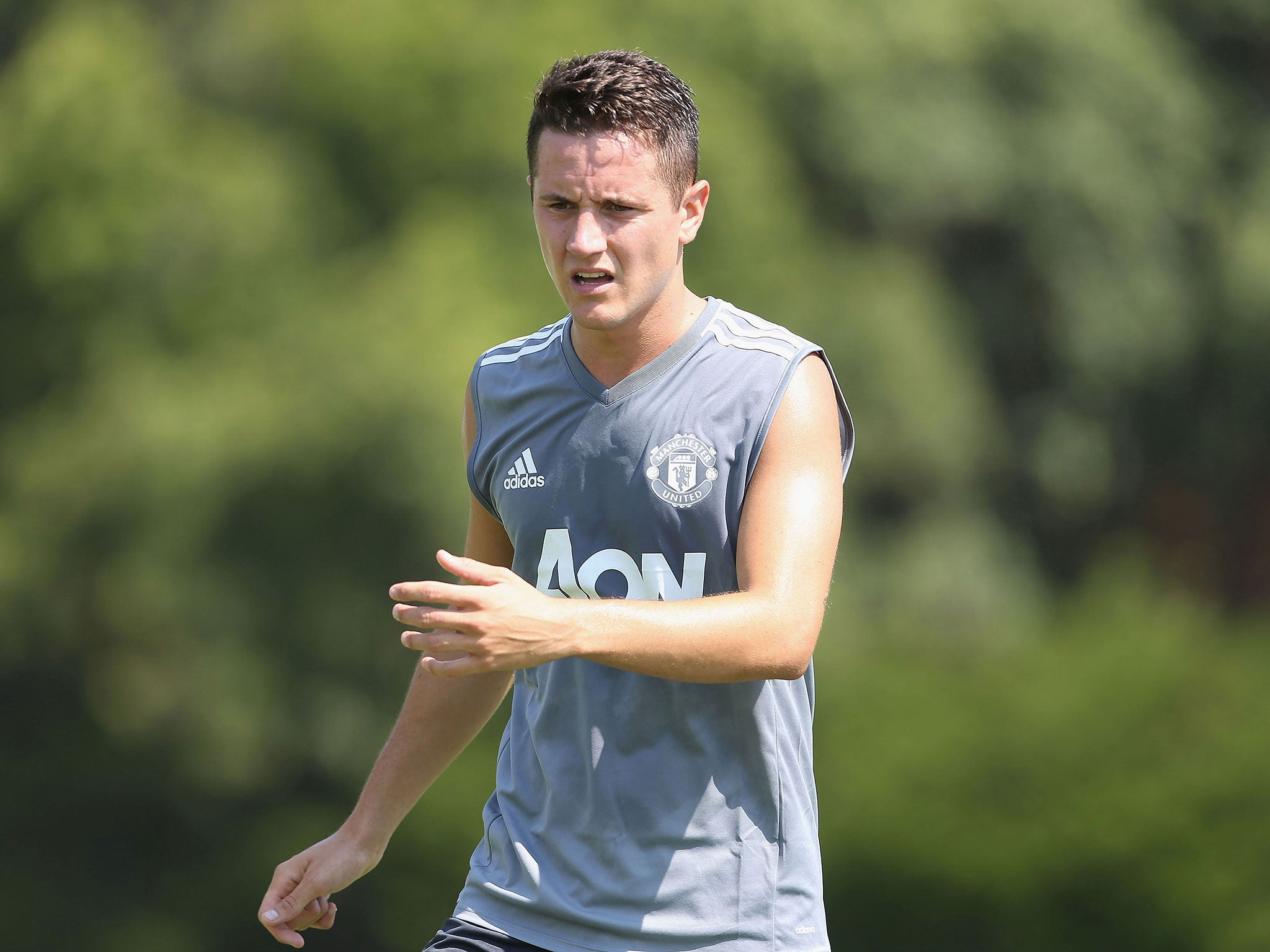 Manchester United midfielder Ander Herrera denies involvement in match-fixing