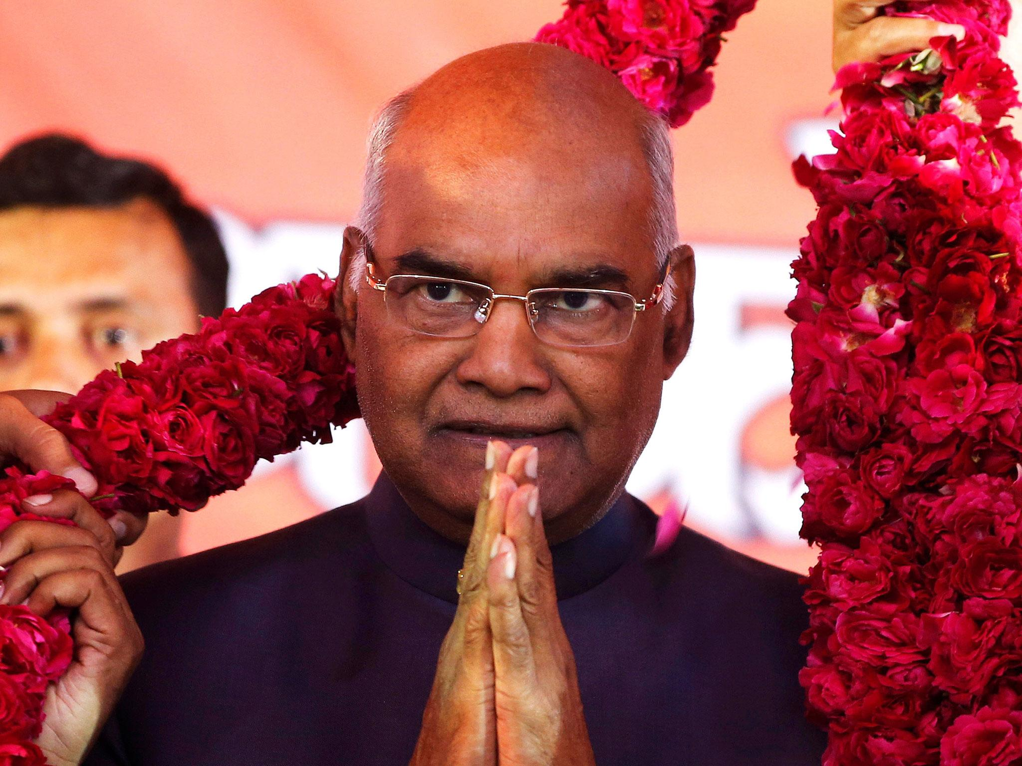 Image result for President Kovind says a  thank you