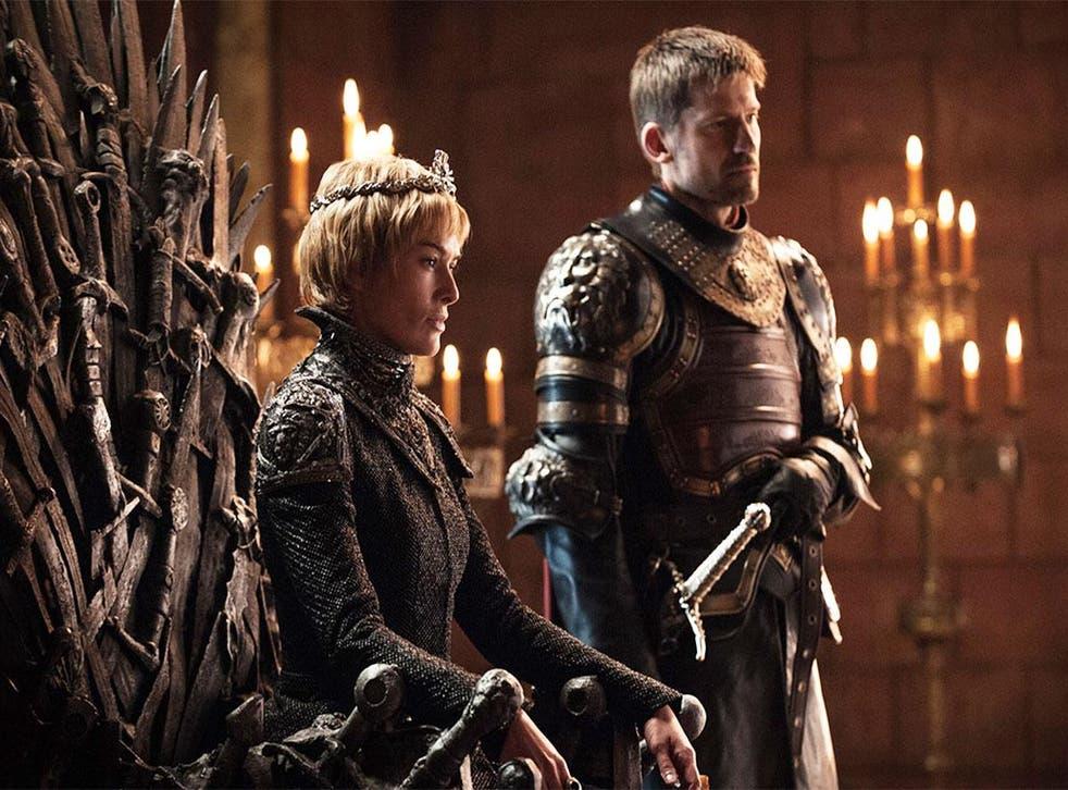 Cersei (Lena Headey) and Jaime Lannister (Nikolaj Coster-Waldau) in 'Game of Thrones'