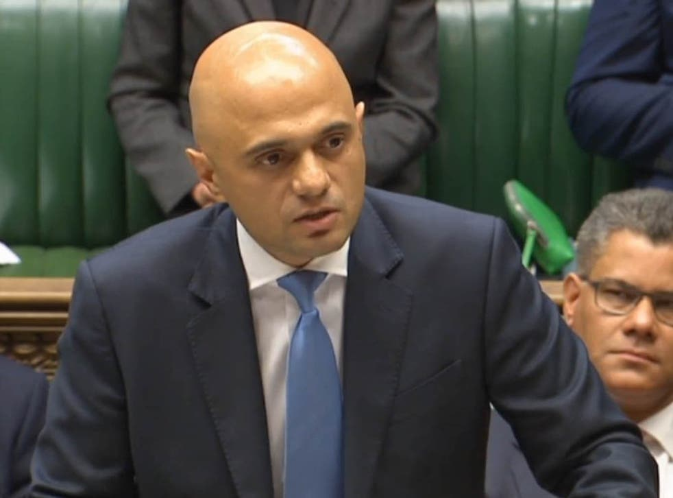 Sajid Javid is said to have told MPs he had listened to calls to look again at housing benefit plans