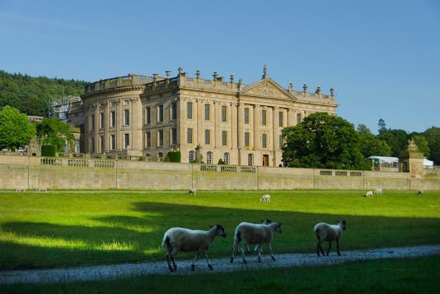 Chatsworth House is the seat of the Duke of Devonshire