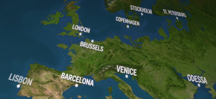 What The World Would Look Like If All The Ice Melted The Independent