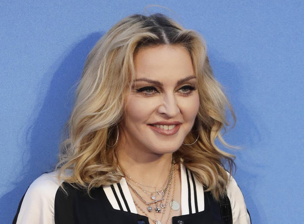 Madonna appeared to criticise the modern pop-writing process
