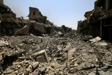 Why is the world not outraged at mass civilian death in Mosul?