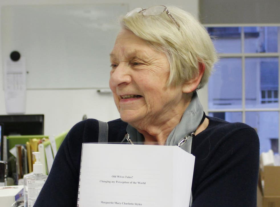 Peggy Styles, 86, who has graduated from the University of Bristol with a doctorate after leaving school at 15 with no formal qualifications and almost dying during her studies