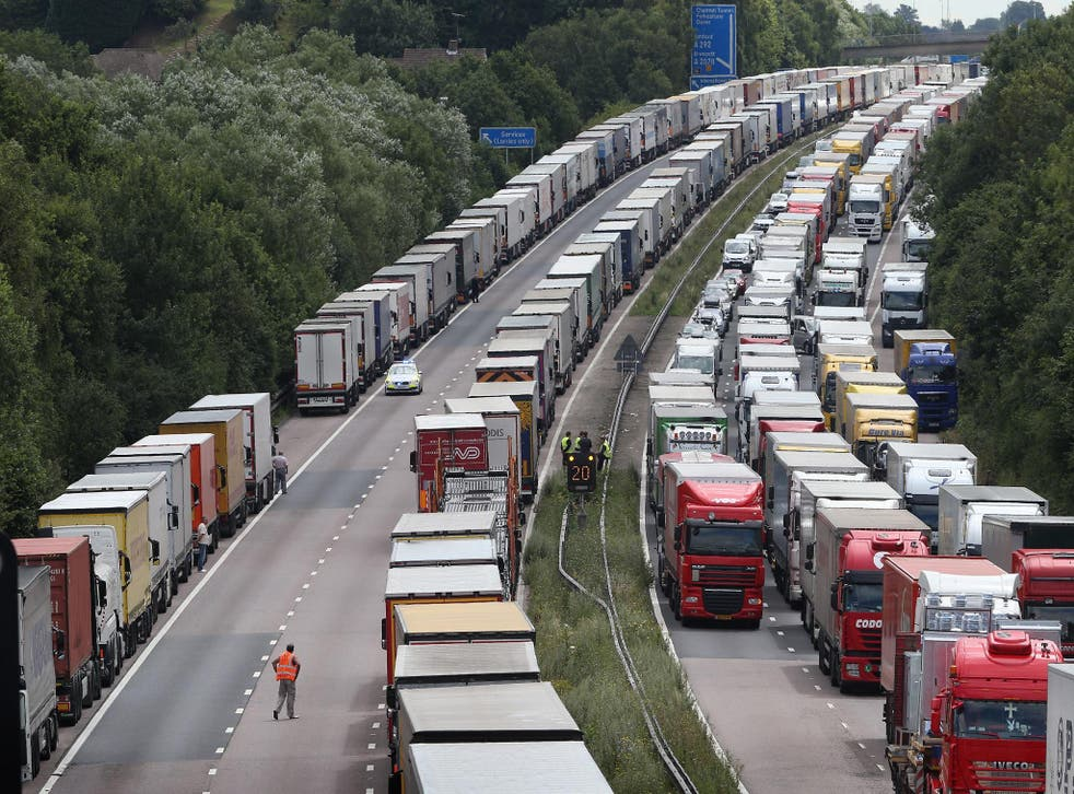 The government is considering a move to driverless lorries