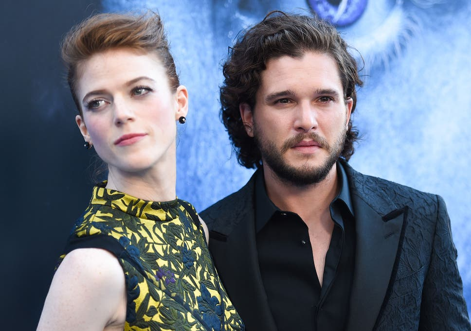 Game Of Thrones Couple Kit Harington And Rosie Leslie Buy 175m