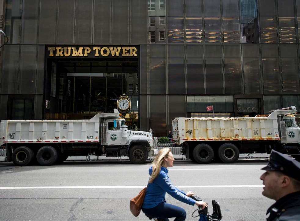 The US military has a $130,000 a month lease for an office space in Trump Tower, a building owned by Donald Trump