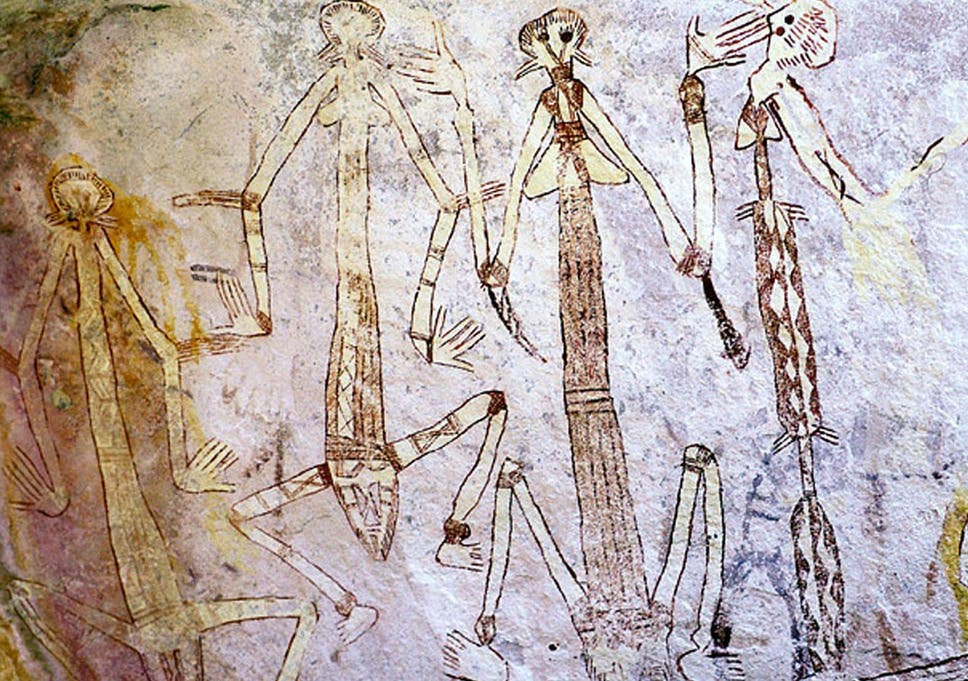Australia was colonised by humans 20,000 years before we