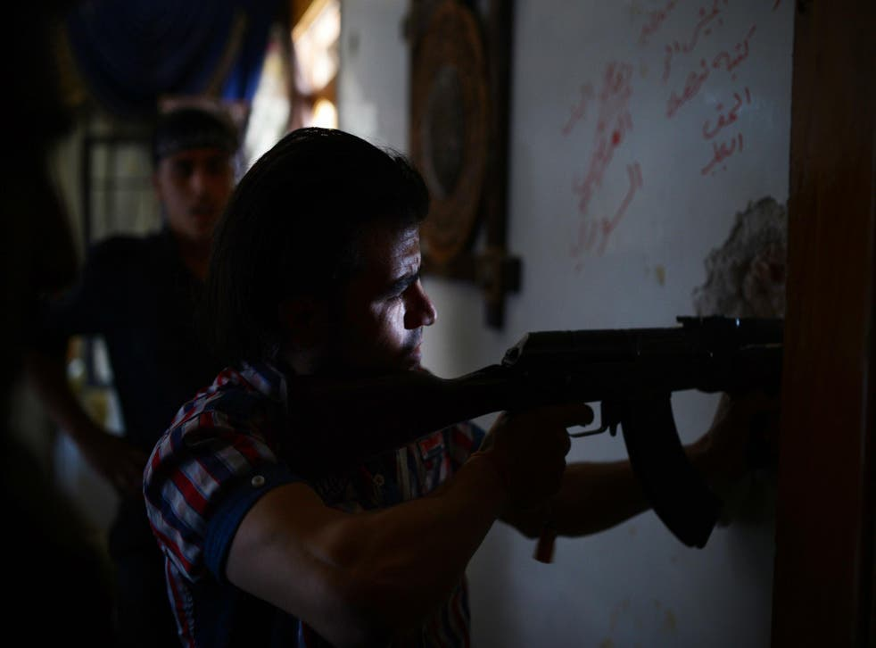 Mr Trump has reportedly decided to stop funding anti-Assad rebels