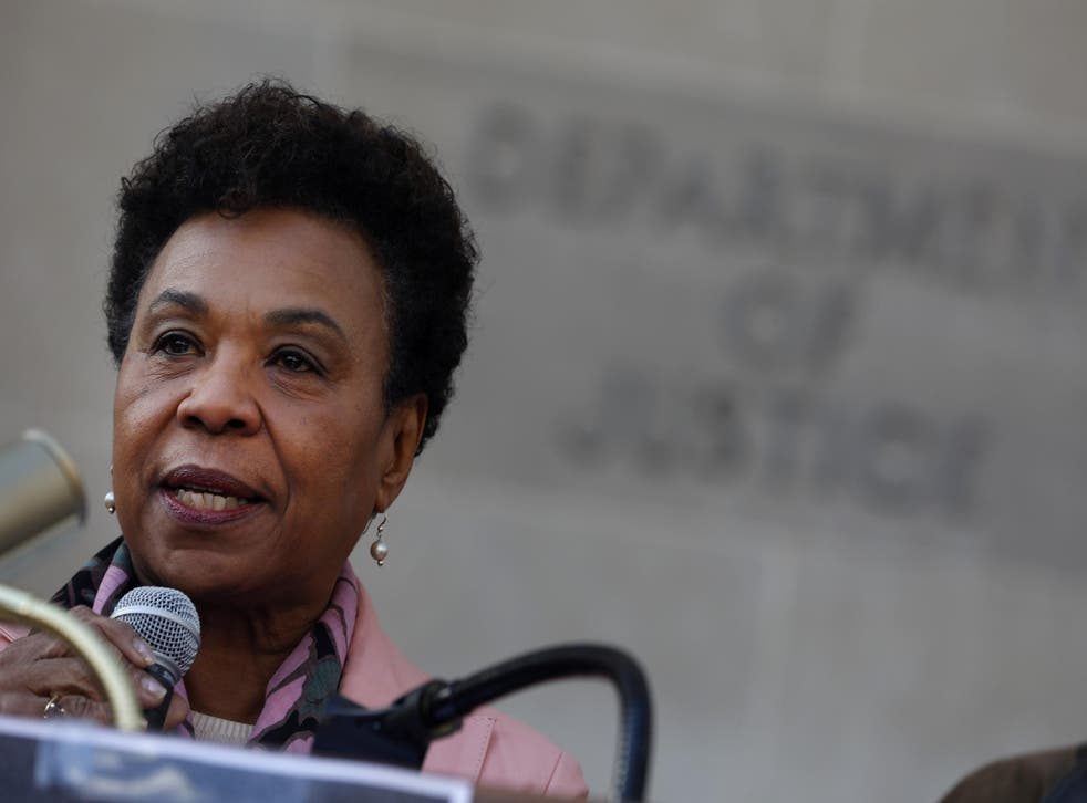 Representative Barbara Lee's amendment was stripped from the National Defense Authorization Act without a vote