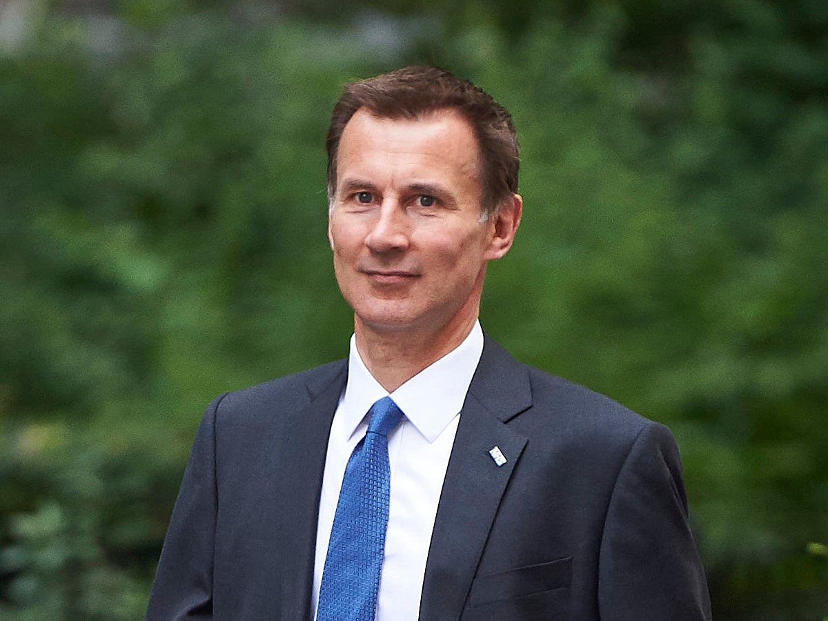 Jeremy Hunt just apologised to NHS patients who had their operations delayed