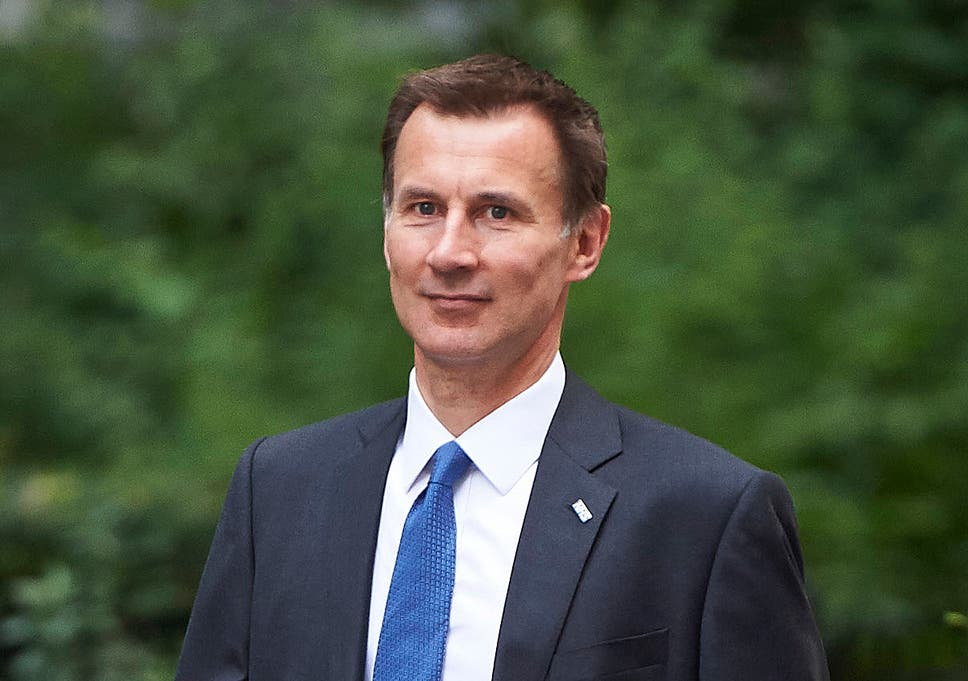 How can Jeremy Hunt walk around wearing an NHS lapel with pride