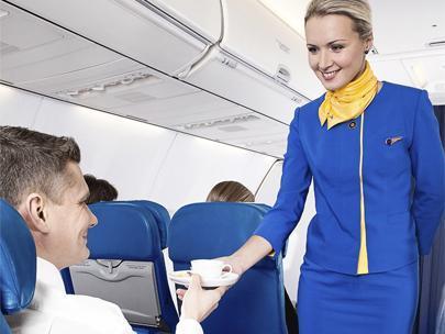 Why I love flying Ukraine International Airlines, the world's strangest carrier