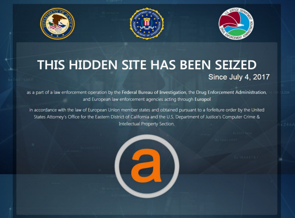 AlphaBay wasn't accessible through regular web browsers like Google Chrome and Firefox