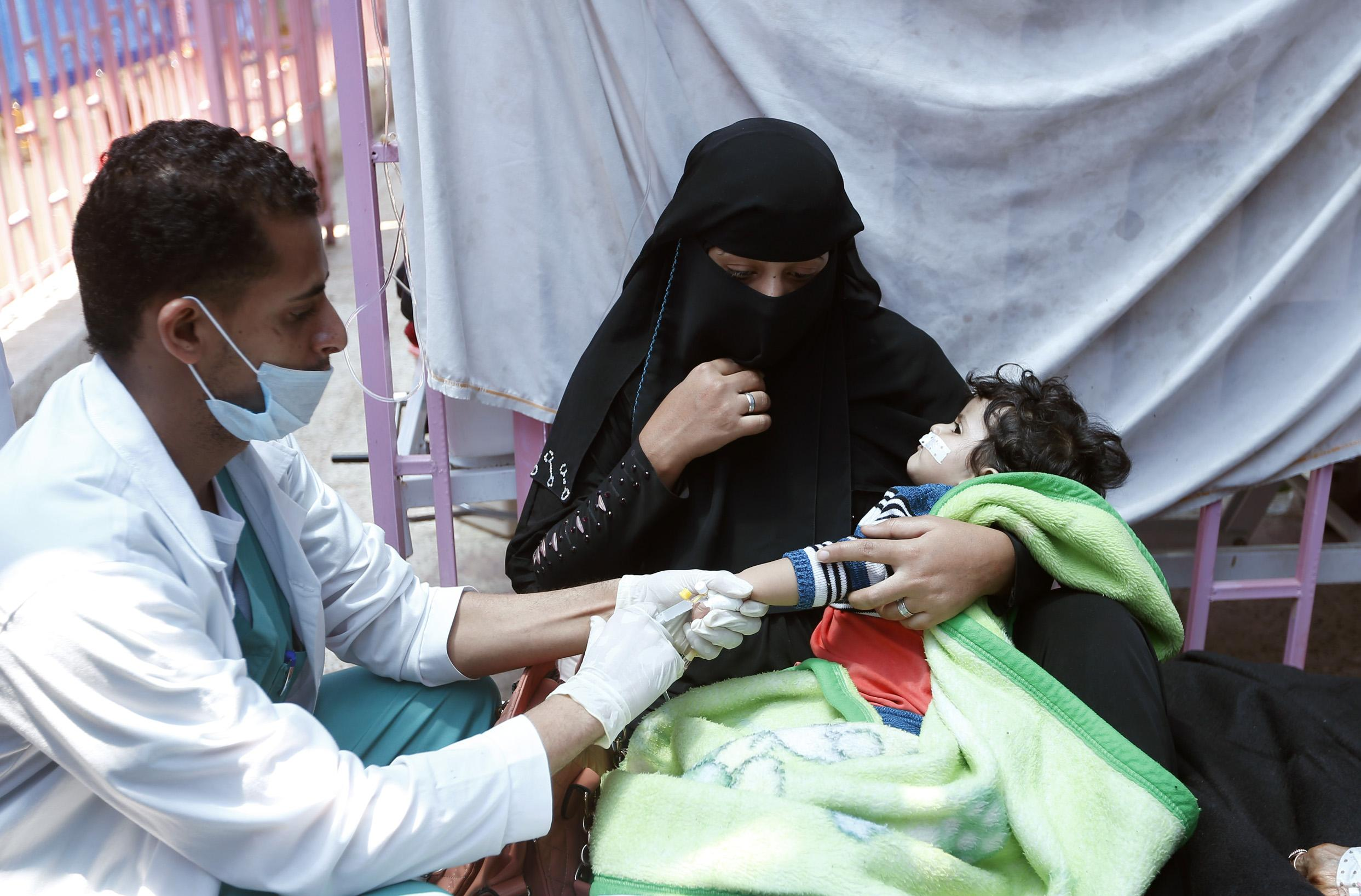 Yemen's cholera epidemic is the biggest in modern history, and it's only getting worse