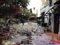Strong earthquake kills two on Greek island of Kos