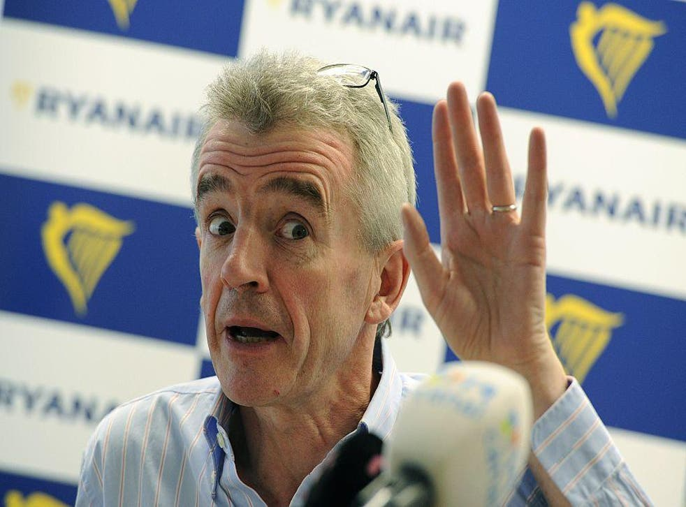 Michael O'Leary insisted the seating policy is random Chief executive officer of the Irish airline Michael O'Leary