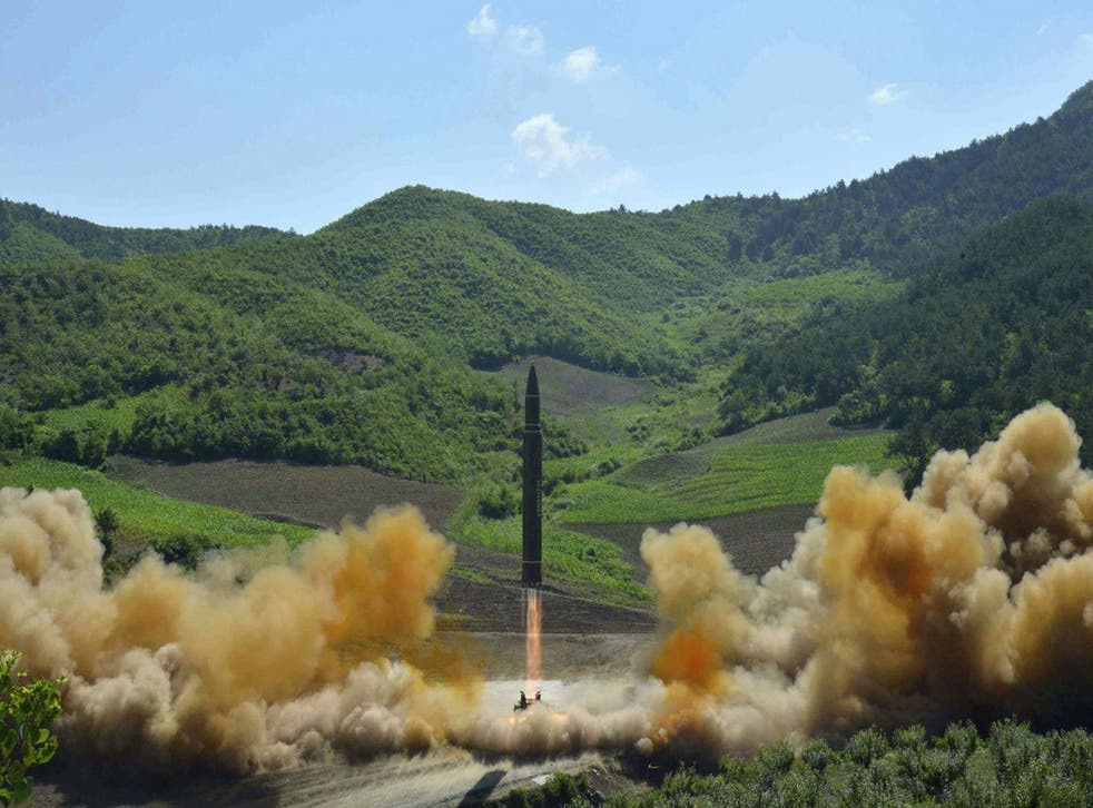 North Korea tested its first ICBM in early July
