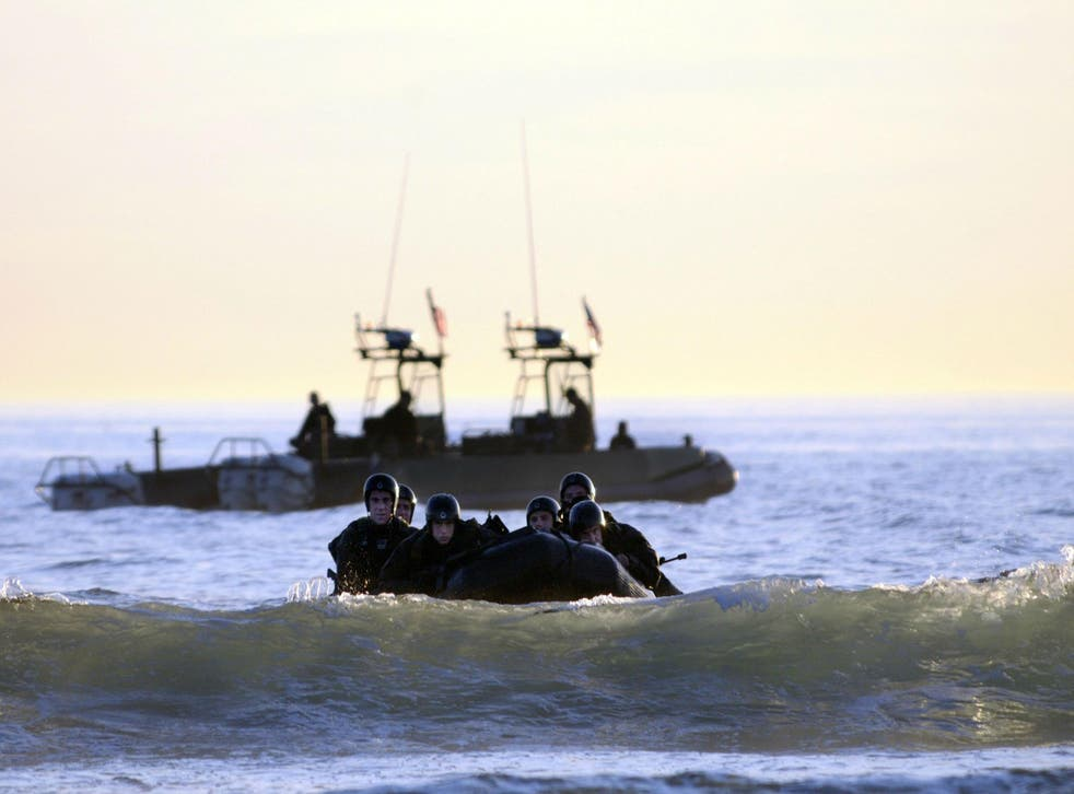 The US Navy SEAL programme has an attrition rate up of to 75 per cent