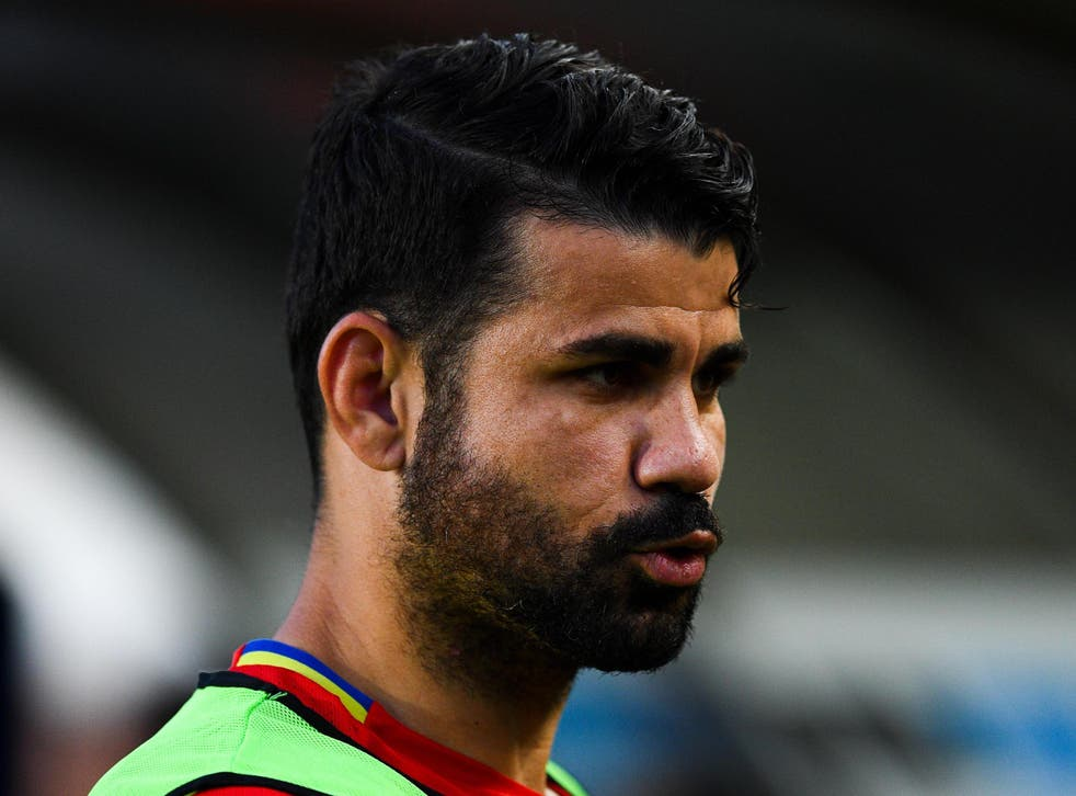 Costa has been told he has no future at Chelsea