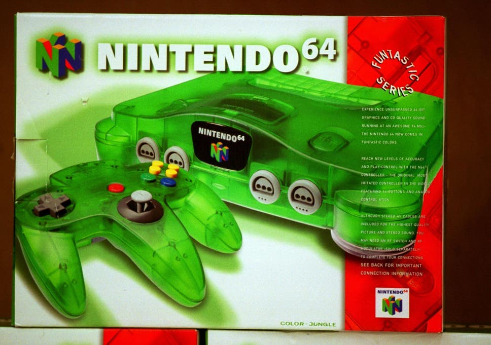 Nintendo 64 Might Be Revived In A New Classic Edition Filings Suggests The Independent