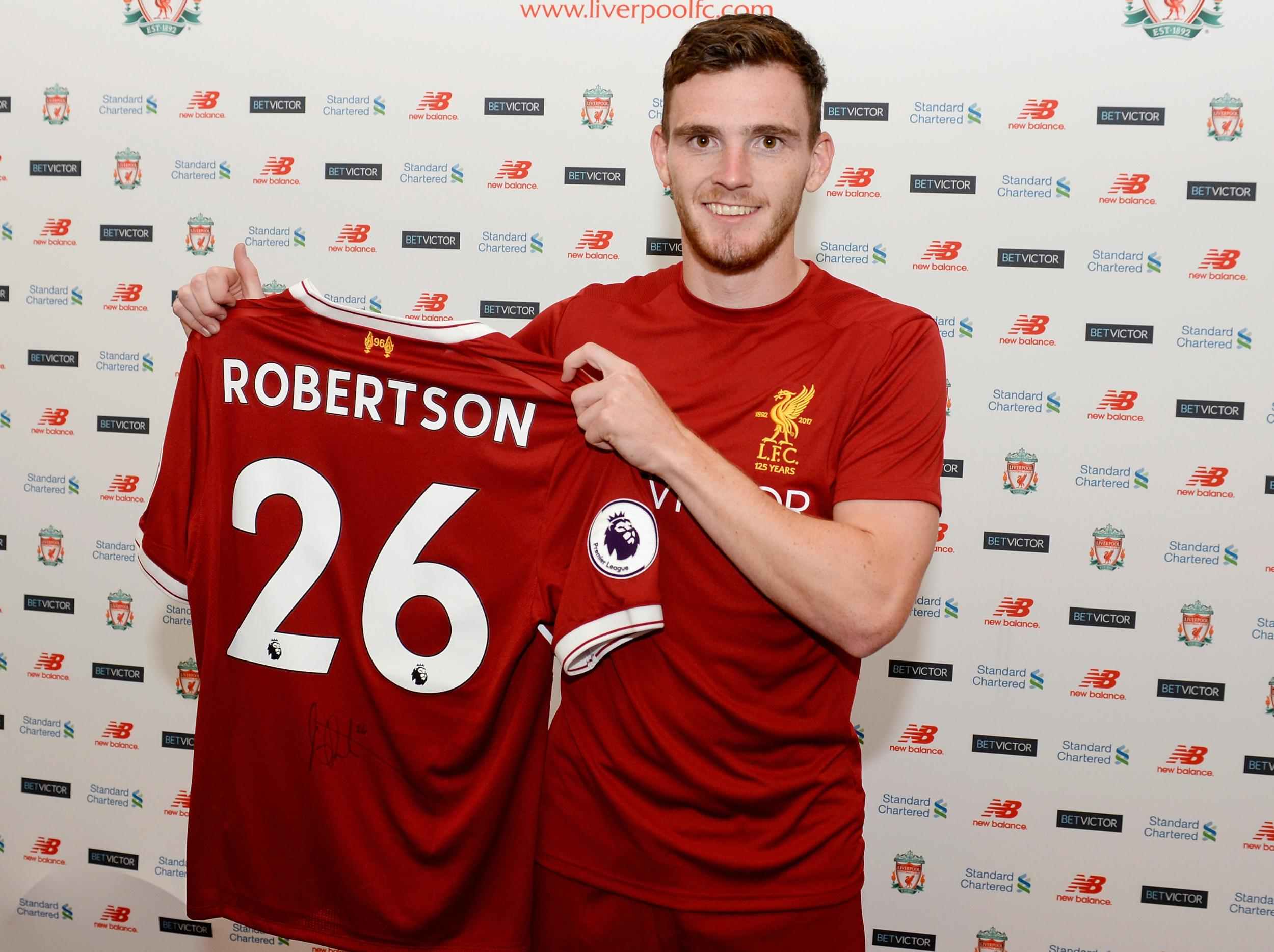Andy Robertson Completes Move To Liverpool From Hull For 163